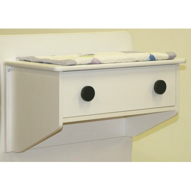 Berg Oslo Changing Table (Attaches to Either End of Crib) White/Espresso