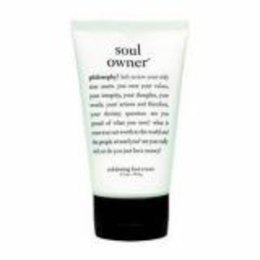 Philosophy Soul Owner Exfoliating Foot Cream