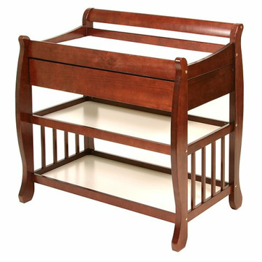 StorkCraft Lennox Changing Table with Drawer - Cherry