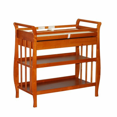Athena Mary Changing Table in Pecan