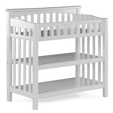 Atlantic Furniture Columbia Knock Down Changing Table, White