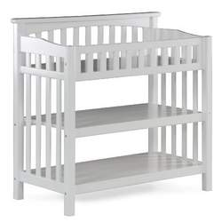 Atlantic Furniture Columbia Knock Down Changing Table, White