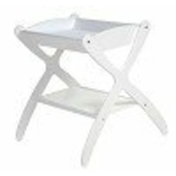 Cariboo Classic Changing Table - Painted White