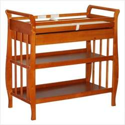 Athena Nadia Changing Table in Pecan