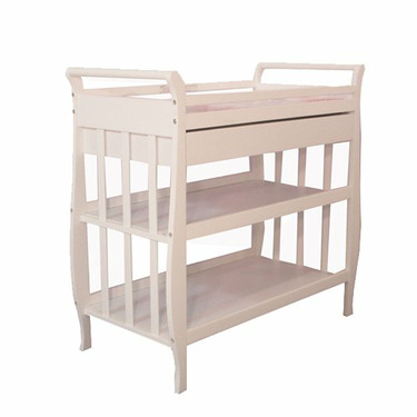 Athena Mary Changing Table (White)