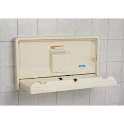 Koala Baby Changing Station - Horizontal, Cream