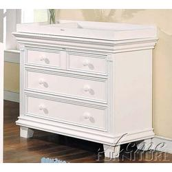 Baby Changing Table White Finish