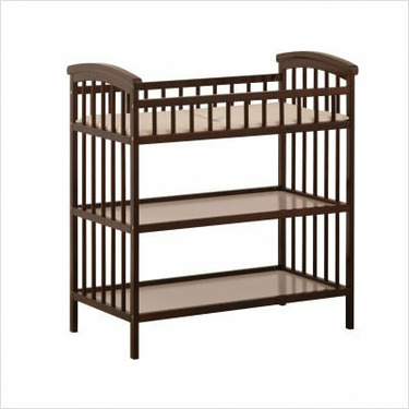 Hollie Changing Table in Espresso