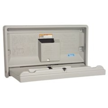 Cream Horizontal Baby Changing Station (KKPKB100-00) Category: Baby Changing Tables