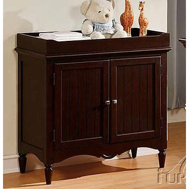 Baby Changing Table Espresso Finish
