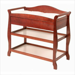 Aspen Changing Table with Drawer - Cherry