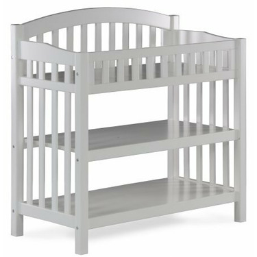 Atlantic Furniture 98802 Richmond Knock Down Changing Table in White