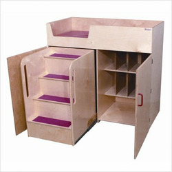 Deluxe Infant Care Center with Safety Steps