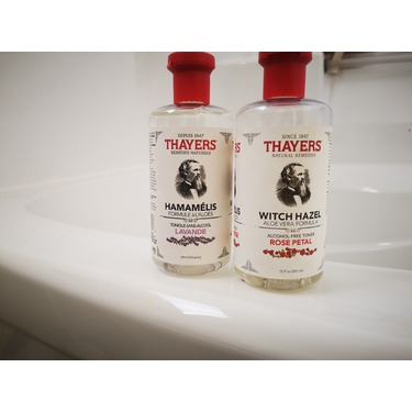 Thayers Rose Petal Alcohol-Free Witch Hazel with Aloe Vera Formula Toner