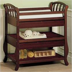 Amy Changing Table Finish: White