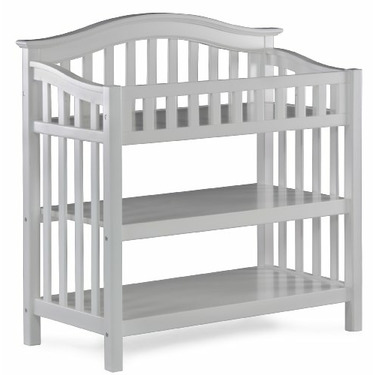 Atlantic Furniture Windsor Knock Down Changing Table, White