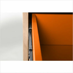 Changing Table in Popsicle Orange