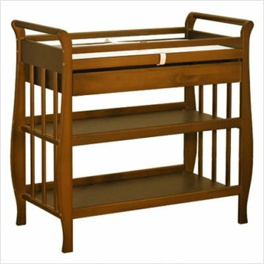 Athena Nadia Changing Table in Mocha