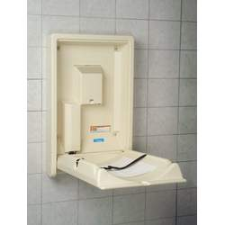 Koala Baby Changing Station - Vertical, Cream