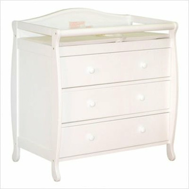Athena Grace I Changing Table in White
