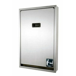 Brocar Recessed Vertical Mount Stainless Steel Changing Station