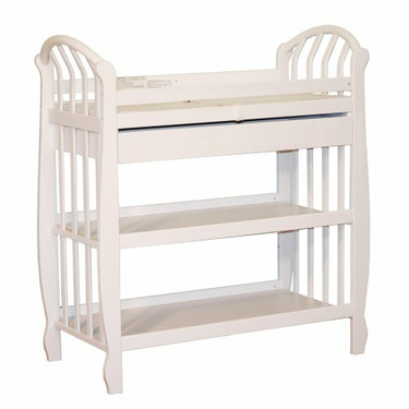 Athena Monica Changing Table in White