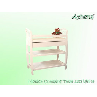 AFG Baby Furniture 3352W Monica Changing Table - White