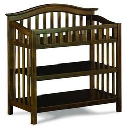 Atlantic Furniture 98814 Windsor Knock Down Changing Table in Antique Walnut