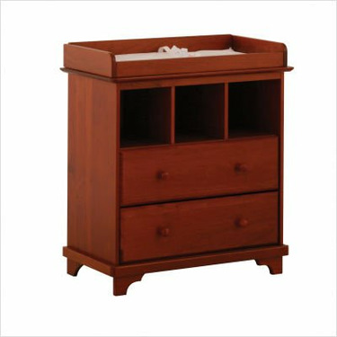 Lily 2 Drawer Changer Chest in Cognac