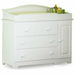 Atlantic Furniture 69142 Windsor Changing Table in White