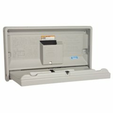 Grey Horizontal Baby Changing Station (KKPKB100-01) Category: Baby Changing Tables