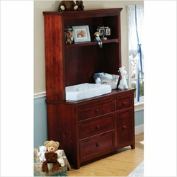 Cocoon Nursery Furniture 2000 Series Dressing Station and Hutch