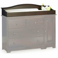 Atlantic Furniture 69144 Windsor Changing Table in Antique Walnut