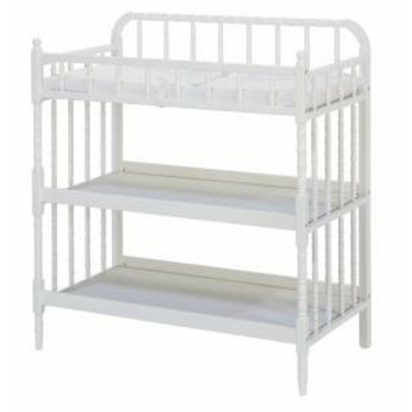 Jenny Lind Changing Table - White