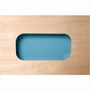 Changing Table in Cool Blue