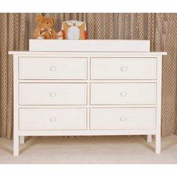 Park Avenue Double Dresser in White