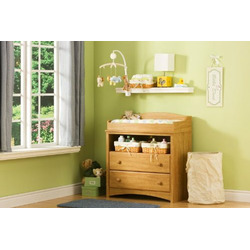 Maple Finished Changing Table