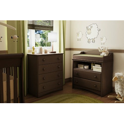 South Shore Eco-friendly Angel Changing Table, Chocolate