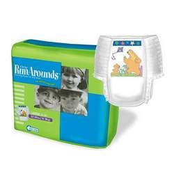 CURITY® RunArounds Training Pants, Medium Girl: Under 34 lbs. (4 bags = 108 total)
