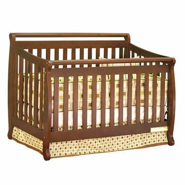 Athena Amy 3-in-1 Convertible Crib (Espresso)