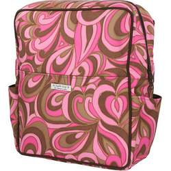 Bumble Bags Madeline Hanging Stroller Backpack Pink Pucci