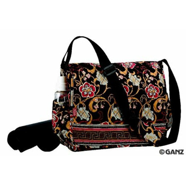 Maggi B Quilted Baby Diaper Bag (Asian)