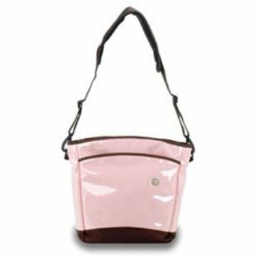 Sling Tote Diaper Bag - Pink Chocolate