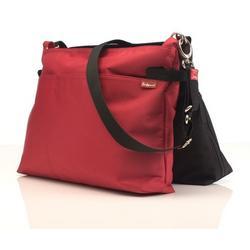 Babymel X2 Black/Red Diaper Bag