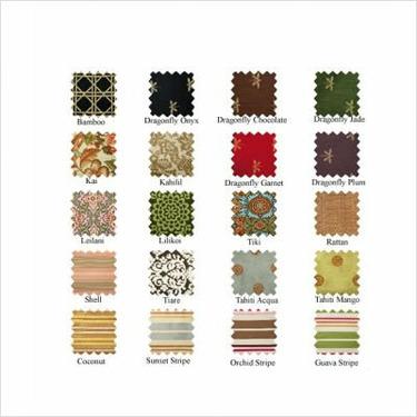Pocket Tote Fabric: Dragonfly Garnet