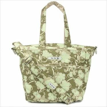 Be Spicy Diaper Bag Tote in Mint Julep