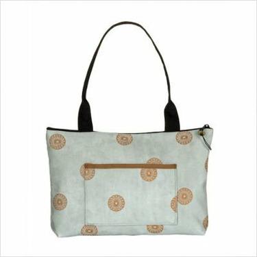 Ruby Bag Fabric: Dragonfly Chocolate
