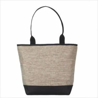 SignatureTote Bag Fabric: Sabbia Pewter