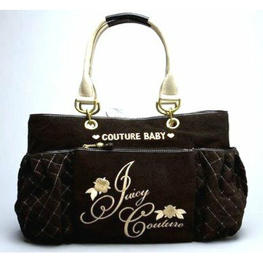 Juicy Couture Diaper Bag Tote Black