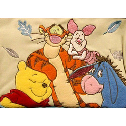 Disney Baby Winnie The Pooh Blue Mini Diaper Bag